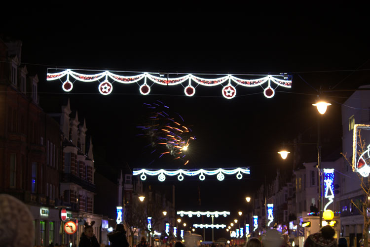 Bexhill's Christmas lights